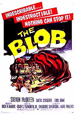 picture of The Blob's DVD cover
