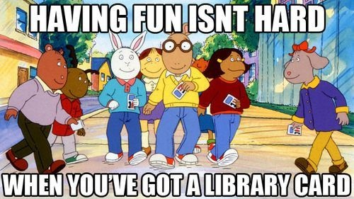 Arthur Library Card