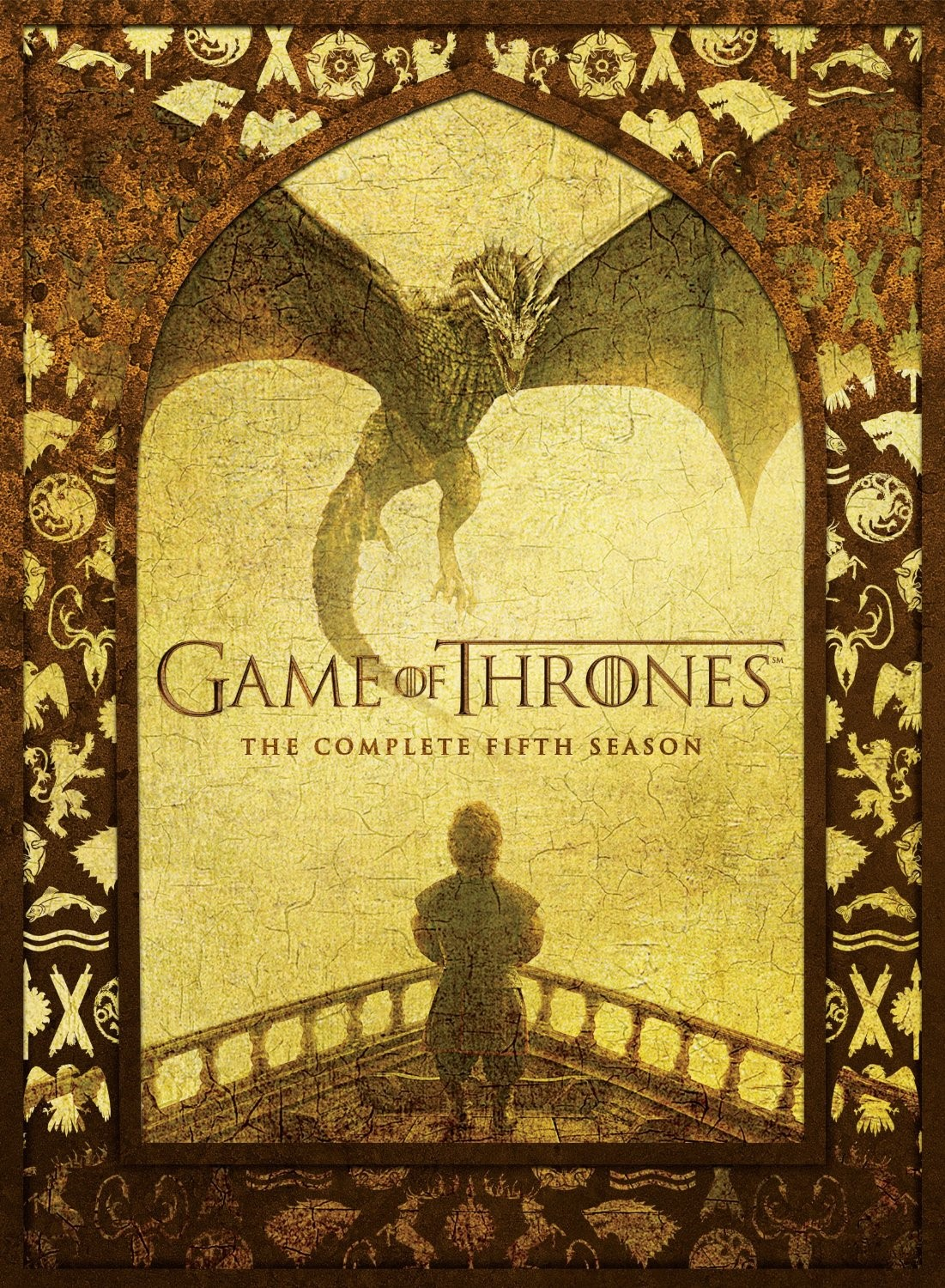 Game of thrones season five cover