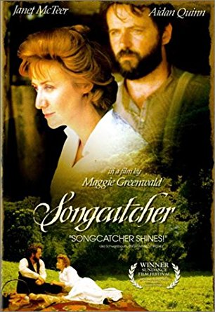 Cover of SongCatcher. There's an image of a couple looking pensive
