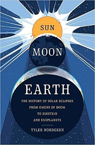 "Book jacket for book called ""Sun Moon Earth"""