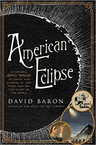 book jacket for book called american eclipse