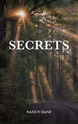 "Bookjacket of Nancy Dane's Novel ""Secrets"""